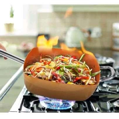 Multi purpose copper pan image 1