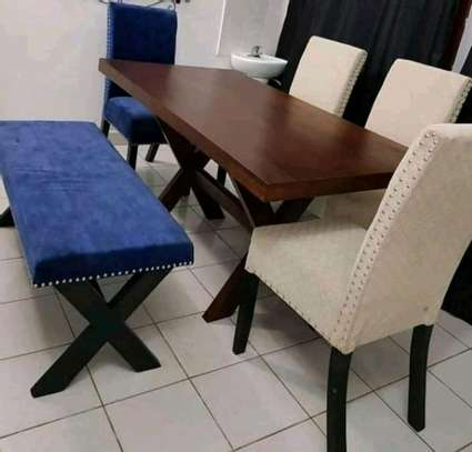 Gorgeous Contemporary 6 Seater Dining Set image 1