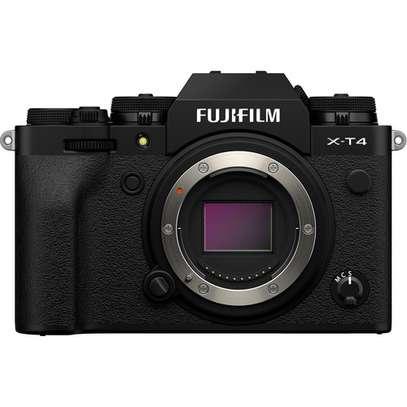 FUJIFILM X-T4 Mirrorless Digital Camera (Body Only, Black) image 1