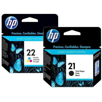 HP inkjet refilling 21 and 22 cartridges image 5