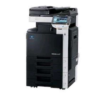 Konica minolta bizhub c280 colored photocopier machine