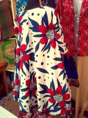Kitenge dress with pockets image 2