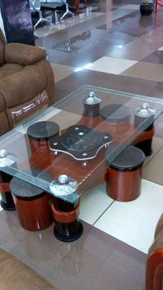 Puff Glass Table