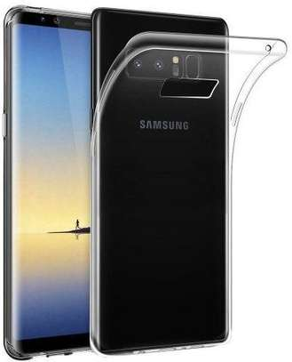 Clear TPU Soft Transparent case for Samsung Note 8 image 3