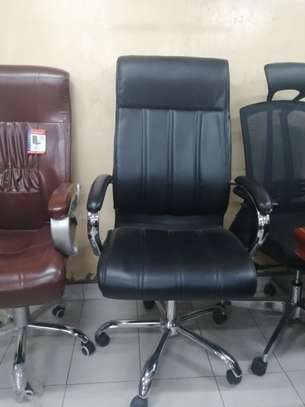 Executive high back office chair image 8
