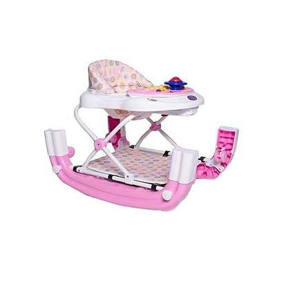 King'S Collection 2 in 1 Baby Walker - Pink image 2