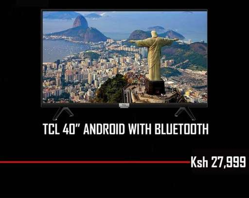 40 inch TCL smart  Android image 1