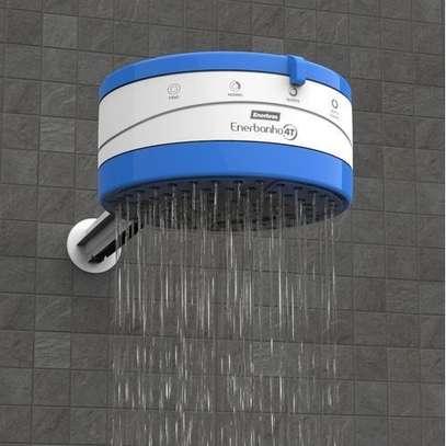 Enerbras Enershower 4 Temperature Instant Shower Water Heater (Blue) image 2