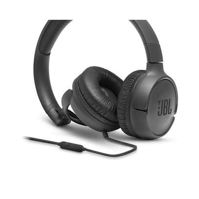 JBL Tune 500 Powerful Bass On-Ear Headphones with Mic image 4