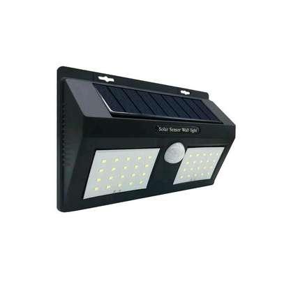 Solar lamp double outdoor motion solar sensor light image 1