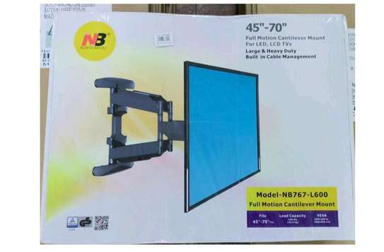Tv Wall Mount Tilting Upto 45-70 Inches image 1