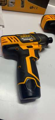 Tolsen 12V cordless drill with impact driver pack image 4