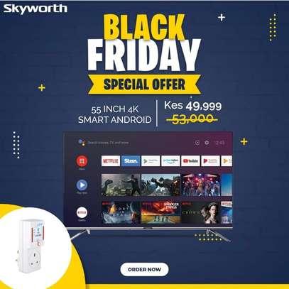 55 inch Skyworth smart 4K 2020 model image 1