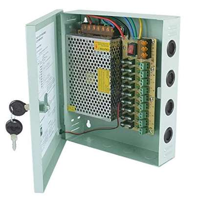 cctv power supply 10amps closed