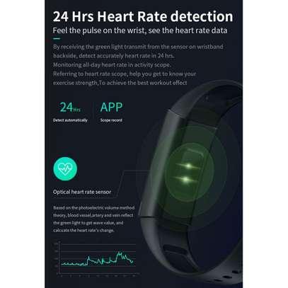 Smart Bracelet V100 With Health Monitor Apps image 2