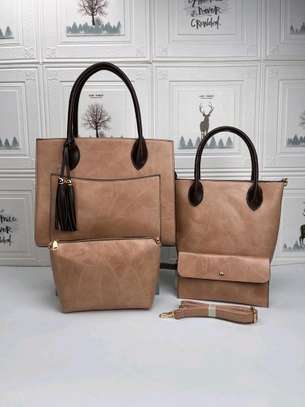 Beige designer handbags image 2