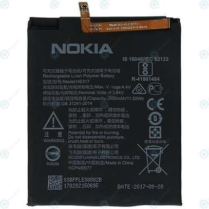 Nokia Replacement Battery for Nokia 6 - Black image 1
