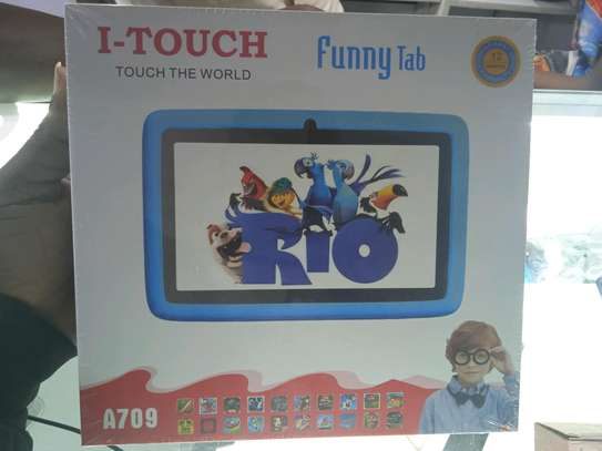 I-Touch Kids Tablets 16gb 2gb ram-itouch A709 model-Wifi only-7 inch image 1