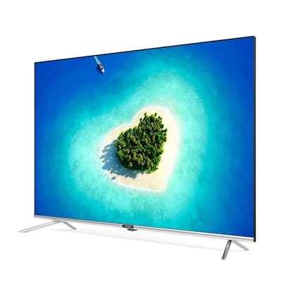 Skyworth New 65 inches Android UHD-4K Smart Frameless Digital TVs image 1