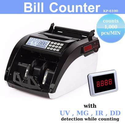 Bill Cash Money register,Currency detector 110V/220V image 1