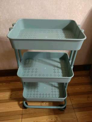 3tier movable trolley image 3