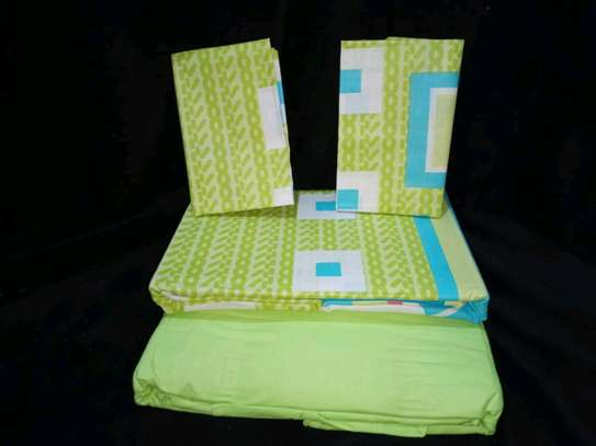Cotton bedsheets 6*6 image 1
