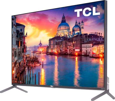 TCL 65  inch smart Android TV( P617) image 1