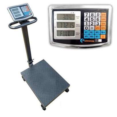 Digital 600 kg platform  weighing scale image 1