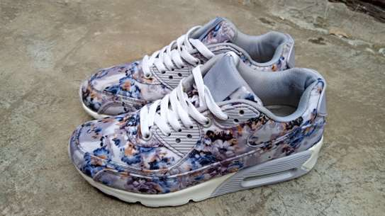 Floral airmax sneakers