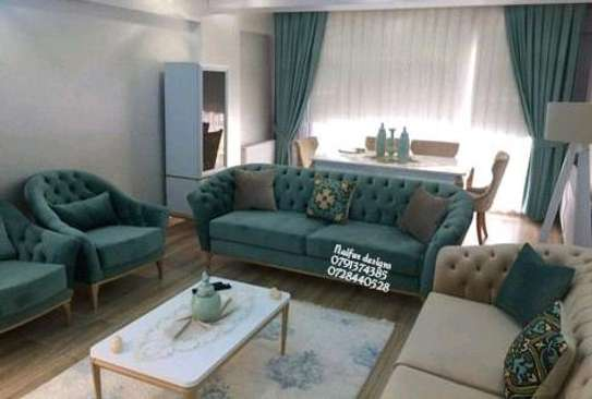 Three seater sofa/modern livingroom sofas/sofa designs/three seater sofas/one seater sofa/3+3+1+1 image 1
