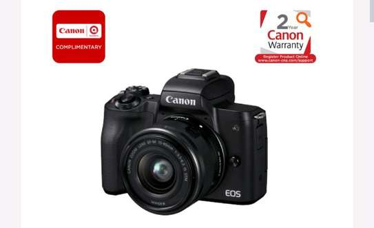 Canon EOS M50 Mirrorless Digital Camera with 15-45mm Lens (Black) image 2
