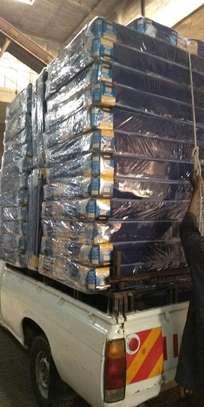 MOMBASA medium blue FREE DELIVER 6 thick mattresses image 3