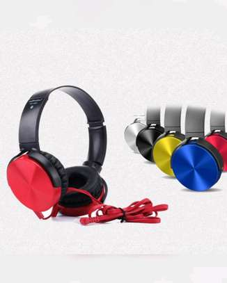 Super Bass extra Headphones With Bass Booster image 1