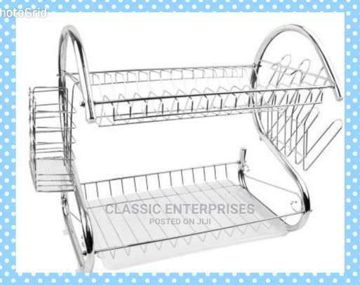 2 Layer Dish Rack image 1