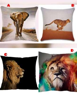 African throw pillow image 2