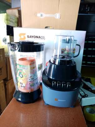 Sayona Unbreakable Blender and Mill 2 in 1 blender with Grinder