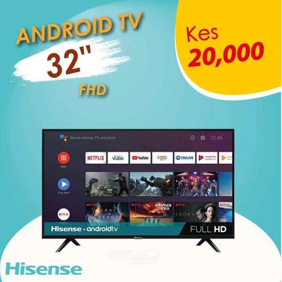 32 inch Hisense Smart Android image 1