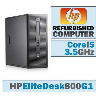 HP EliteDesk 800 G1 Tower *Intel Core i5-4570 4th Generation @3.20GHz image 2