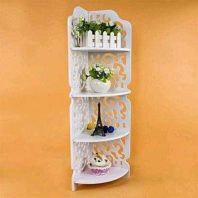 *Triangle 4layer corner shelf* image 1
