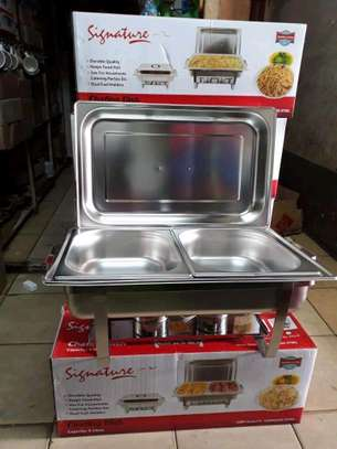 Signature chaffing dishes/cheffing dishes/food warmers image 2