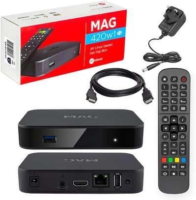 Basic IPTV/OTT Set-top box with 4K support MAG420w1 infomir