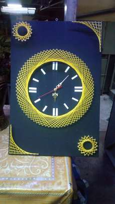 String Art wall clocks on offer!! image 4