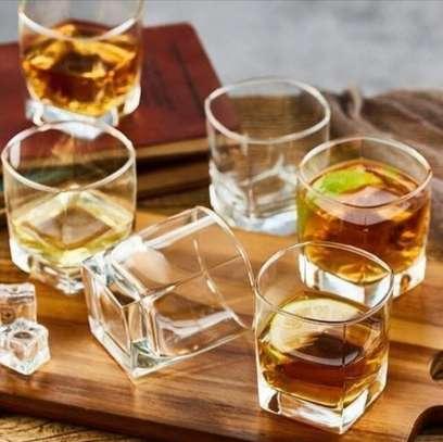 6 Whisky glasses image 1