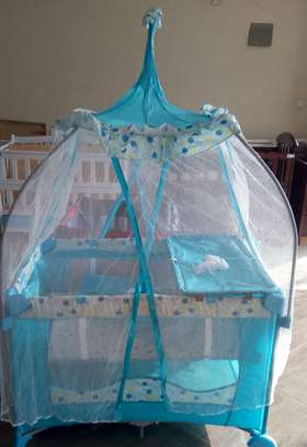 Imported baby bed