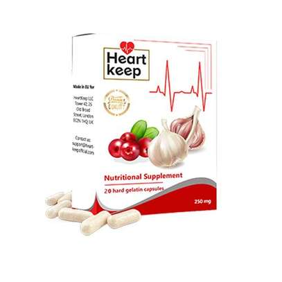 Heart Keep Nutritional Supplement image 1