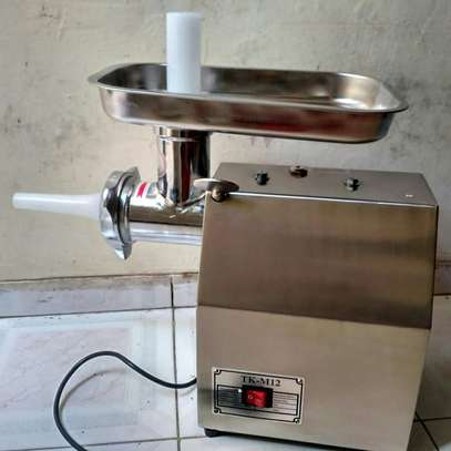 Power electrical meat grinder image 1