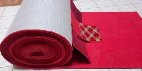Non-Skip Heavy Duty Red Carpet For Wedding image 6