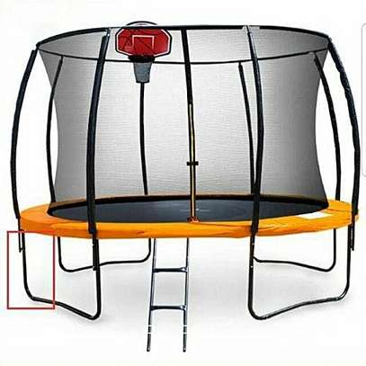 Trampolines 15' Round Trampoline with Safety Enclosure