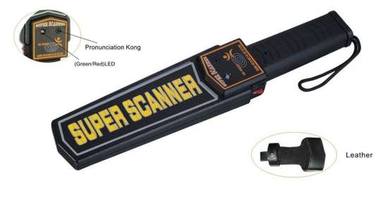 SUPPER SCANNER HANDHELD METER DETECTOR image 1