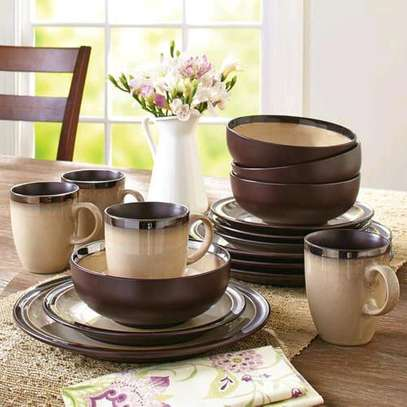 Ceramic dinner set image 5